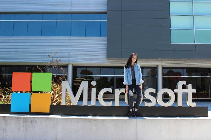 Microsoft graduate internship