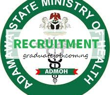 Adamawa State Ministry of Health is recruiting to fill the position of Medical Consultant, Suitably qualified candidates should see the job details and apply.